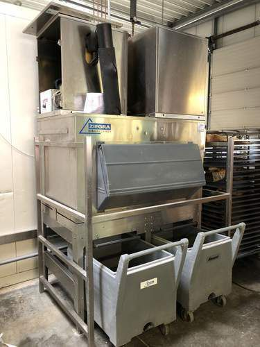 Ziegra ZBE 550  Flake ice machine
