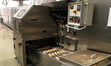 Steinhoff PRO 3 076 baking system for rolled sweet croissants