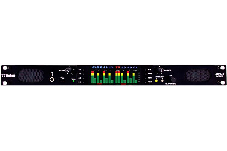 Wohler AMP1-16-M Dual Input 3G/HD/SD-SDI Audio Monitor