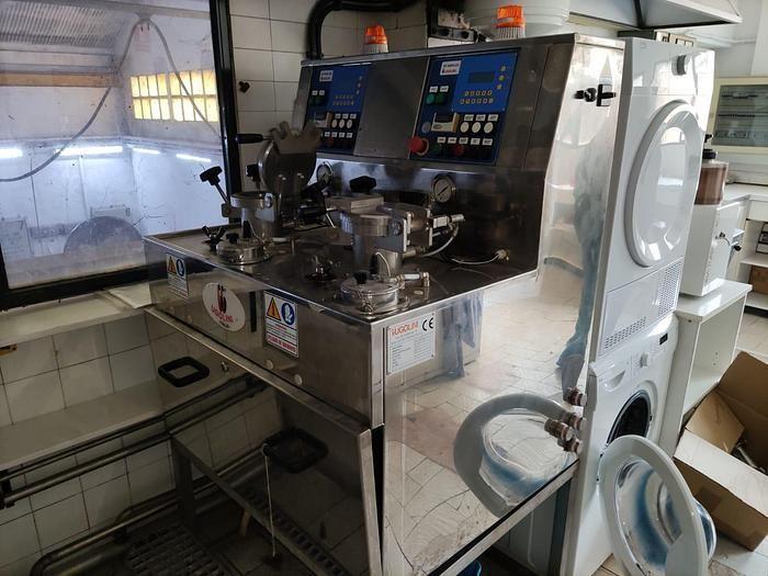 Ugolini SP Simplex, Laboratory dyeing sample