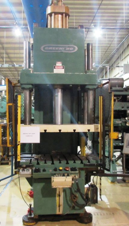 Greenerd HCA-100-57R27, Press Machine Max. 100 TON