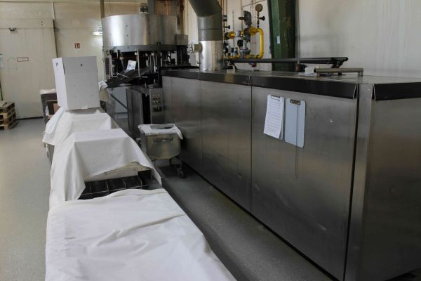 Haas TRO 60 Baking unit for rolled sweet croissants