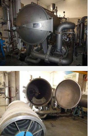 Thies Beam dyeing machine 180 Cm