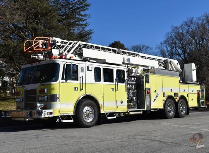 Lance, Pierce Fire Truck