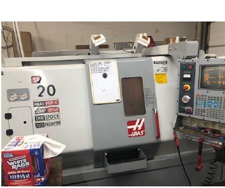 Haas Haas 32 BIT 5000 rpm SL-20T 3 Axis