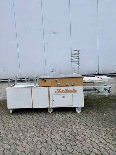 Frilado MSA 80 Bun roll line with magazine