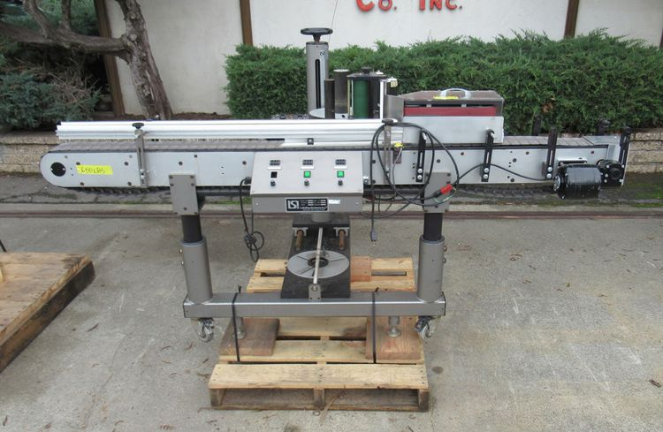 LSI 3990 Pressure Sensitive Labeler with Wrap Around