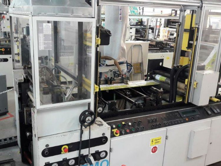 Lemo Intermat 600 servo Wicket bagmaking machine
