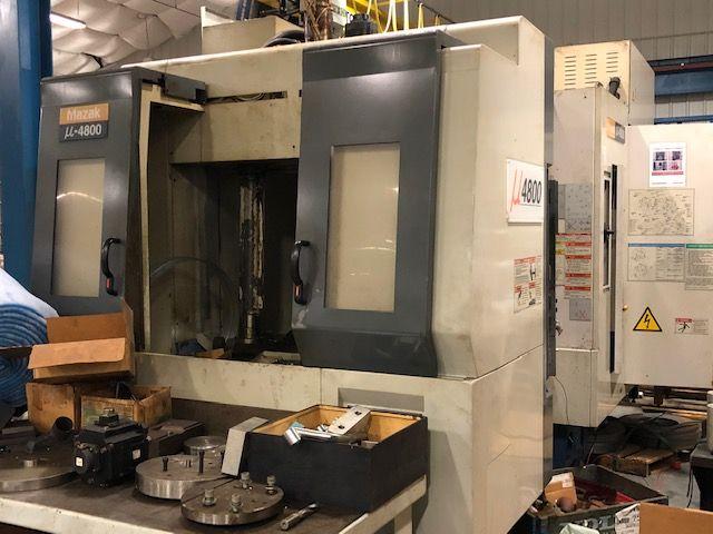 Mazak µ-4800 (Parts Machine Only) 4-Axis