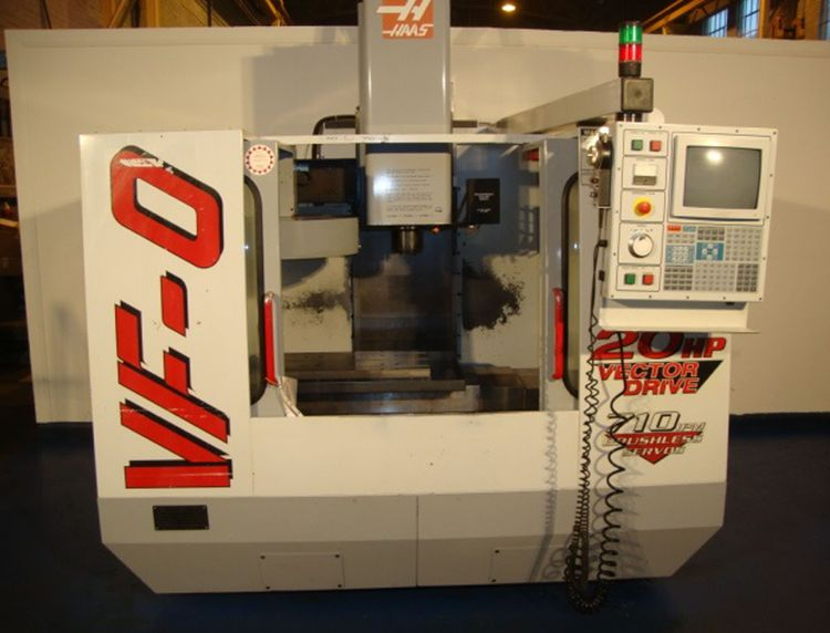 Haas VF-0 3 Axis
