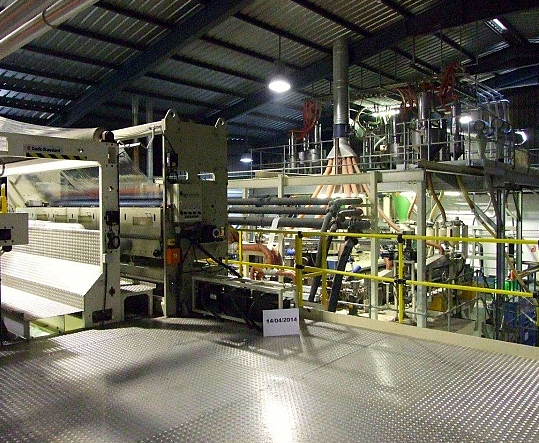 Black Clawson Cast Film Extrusion Line