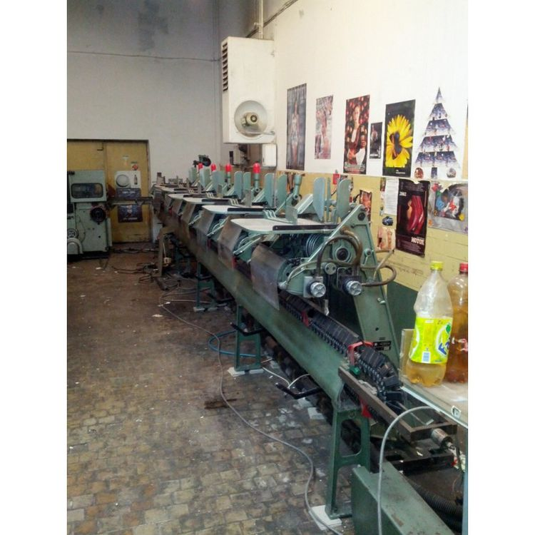 Hans Muller SADDLE STITCHING MACHINES