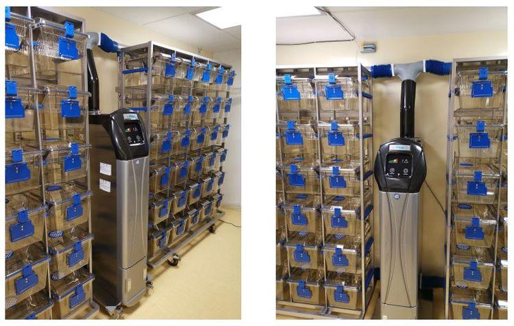 Techniplast Ventilated rack