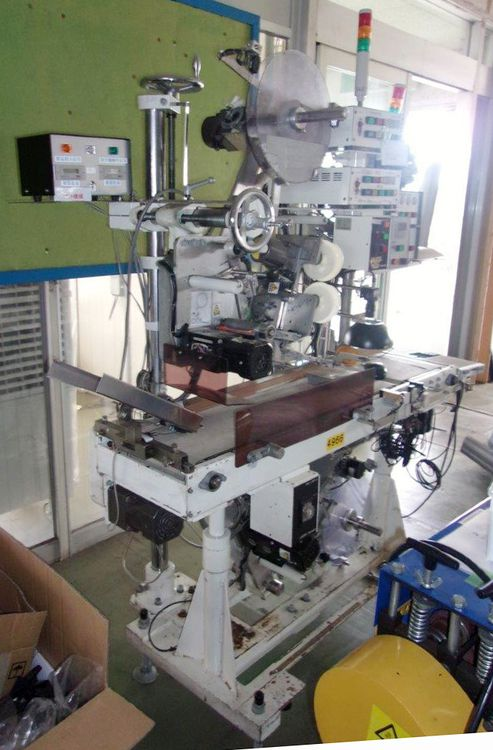 Lintec MD-1P C / V Top and bottom pasted labeler