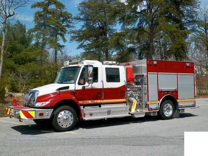 International, KME Rescue Pumper