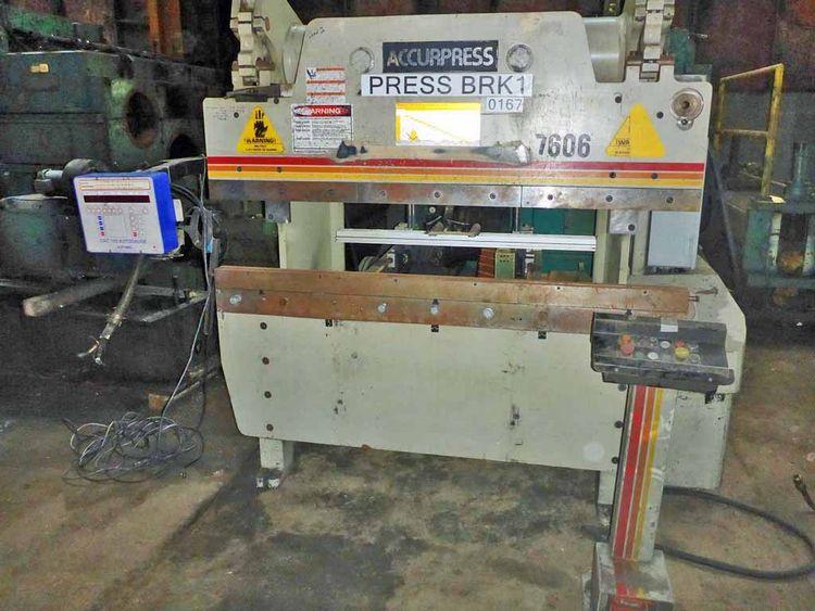 Accurpress 7606 60 Ton