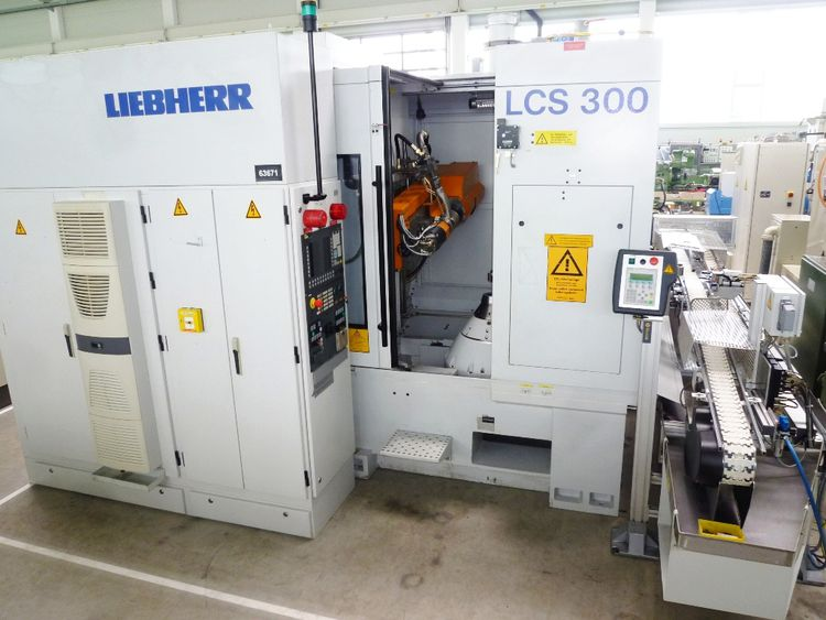 Liebherr LCS   300 Max. 10000 rpm CNC – Controlled Gear- and Profile Grinding Machine