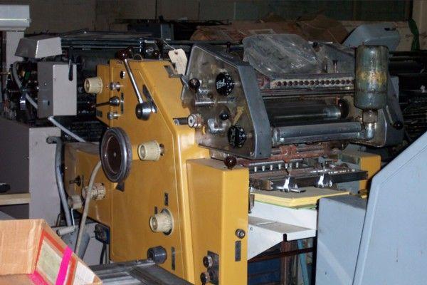 "Ryobi 2800, 2 colors Offset machine 11"" X 17"""