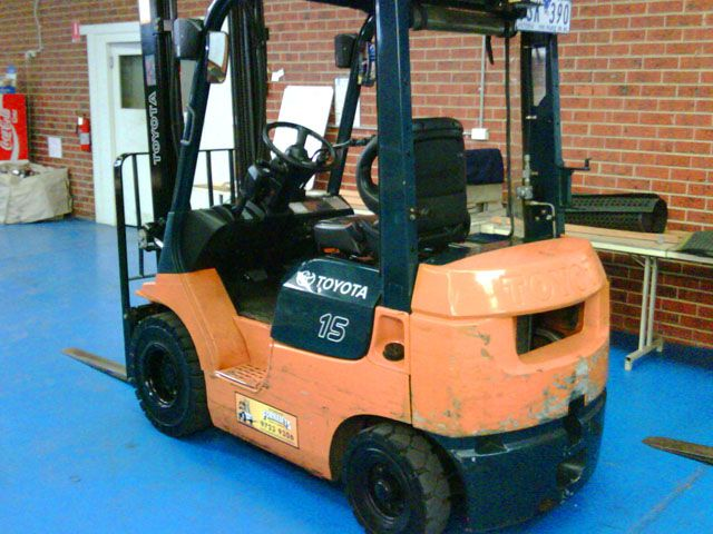 Toyota 7 Series Used Forklift 1.5 Tonne