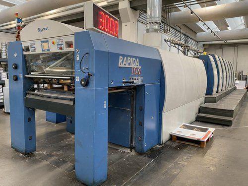 KBA Rapida 106-6+L 740x1060 mm