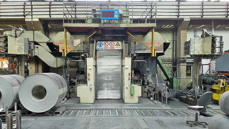 Achenbach 4 HI 1 Stand Reversing Cold Breakdown Rolling Mill