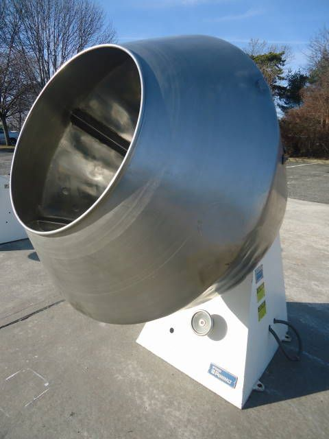 Others 900-300-1 COATING PAN WITH BAFFLES & VARIABLE FREQUENCY INVERTER