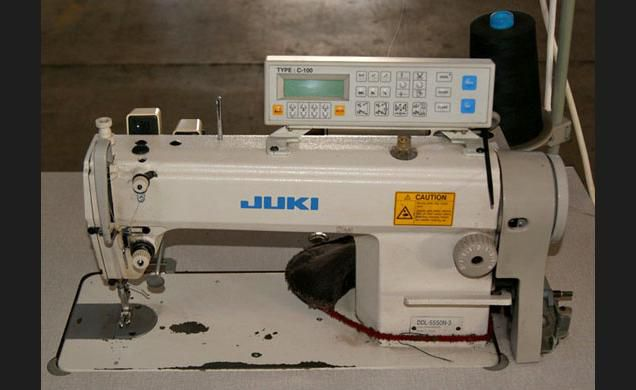 Juki DDL 5550N-3 Flat stitch sewing machine