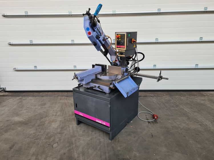 MEP Shark 270 BandSaw Semi Automatic
