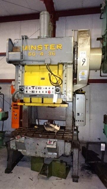 Minster 60-4-O.B.I. GAP Max. 30 Ton