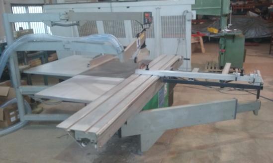 Altendorf F45, Elmo panel saw