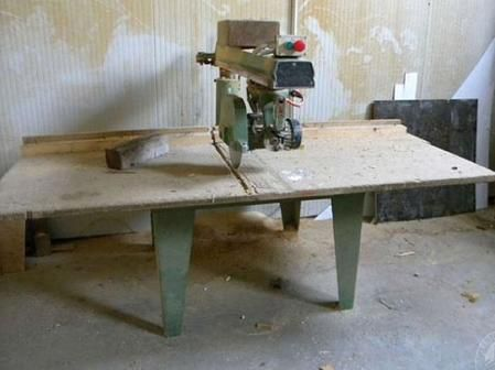 Artigianale RADIAL ARM SAW