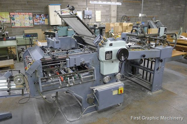 Stahl K66-4KTL, Combination Folding Machine