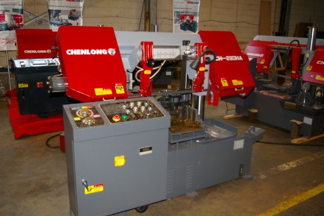 ChenLong CH-280 HA HORIZONTAL DUAL COLUMN BAND SAW Automatic
