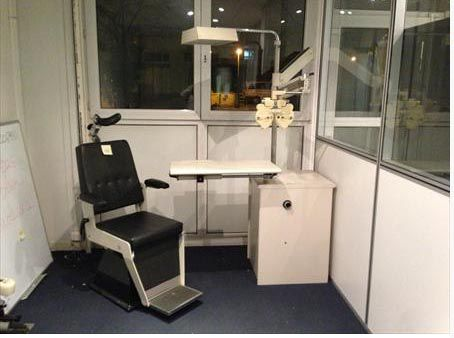 AO (American Optical) Table and Chair Ophthalmology