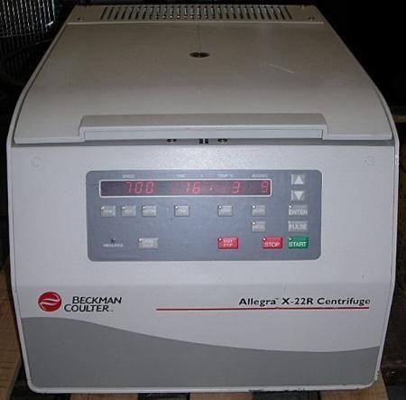 Allegra X-22R High-Speed Refrigerated Centrifuge