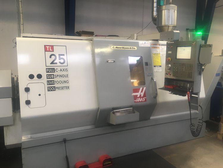 Haas cnc control 3400 rpm TL 25HE 3 Axis