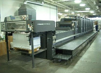 Heidelberg SM 102 8 LX, 8 Colors Offset Machine Max. 72 x 102 cm