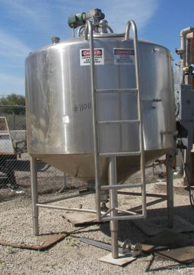 Dairy Craft 800 Gallon Cone Bottom Processor
