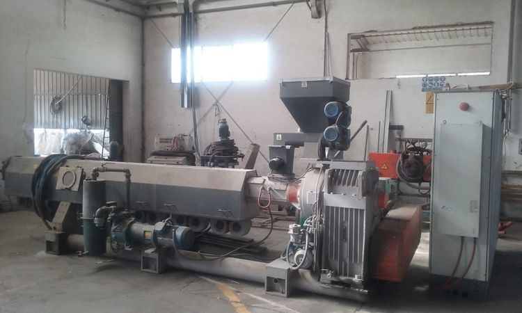 Tecnova ES 130 / 37D-DEG, Complete regeneration plant