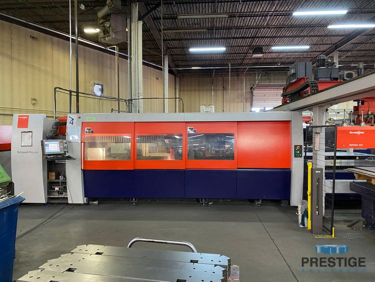 Bystronic Byspeed Pro 3015 Byvision CNC Control