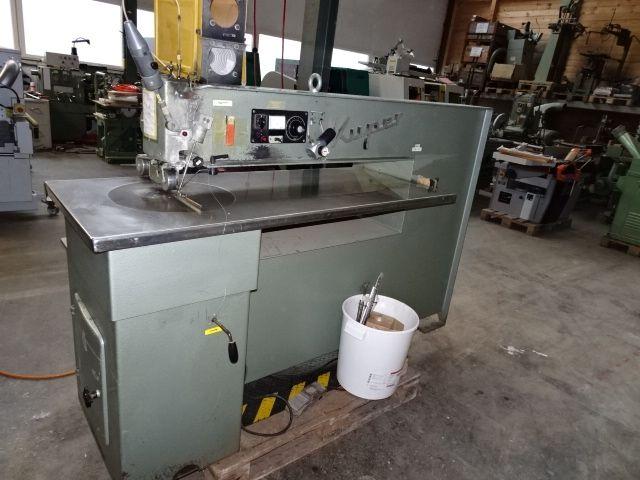 Kuper J 2210, Veneer splicing machine