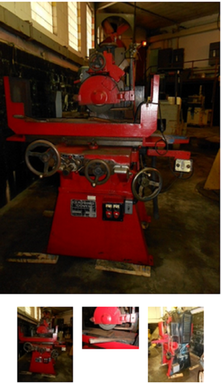 Clausing COVEL 8 X 14, Surface Grinder