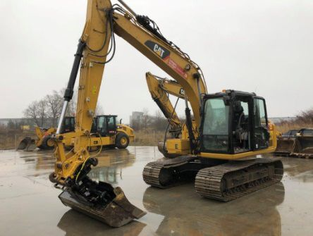 Caterpillar 313 FL GC Tracked excavators