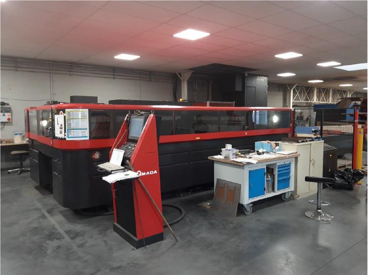 Amada AMADA LC 3015 X1 NT Laser cutting machines