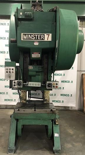 Minster #7SS 75 ton