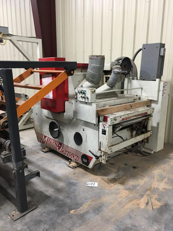Mereen Johnson 524 Ripsaw WITH INFEED SYSTEM