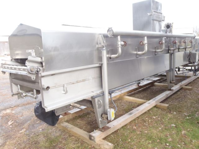 Heat & Control HWF 36-20 Long Gas Fired Fryer
