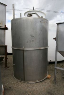 Others Single Shell Stainless Steel Tank 1,000 Gallon