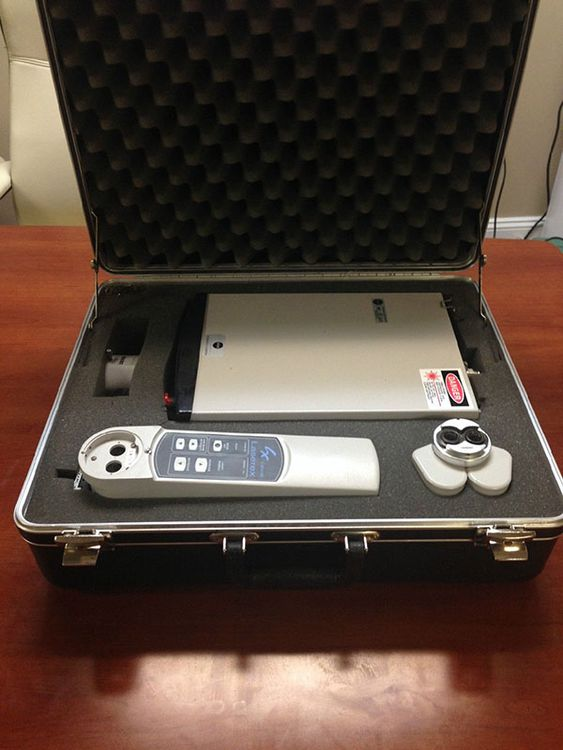 Ellex, Laserex LQP4106 Portable Yag Laser System