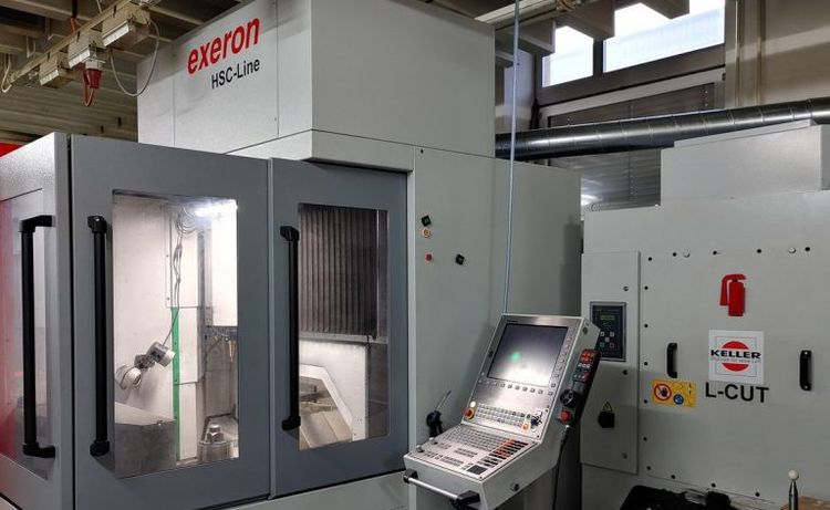 Exeron HSC 600/5 5 Axis